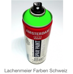 Talens Amsterdam Spray WB 672 Grün Reflexgrün Fluo