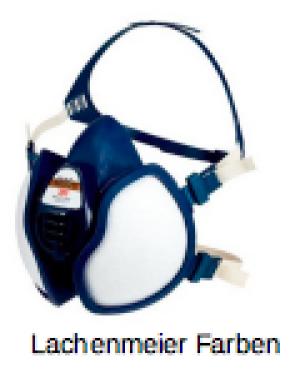 3m Atemschutz Maske 4000 4255 Gase und Dämpfe FFA2P3RD mit Ventil Einzeln
