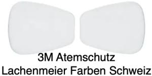 3M Atemschutz Maske 6000 Teile 5935 Filter Partikelvorfilter P3 R 1 Paar