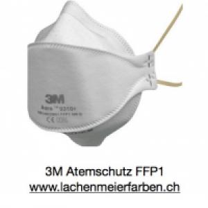 3M Atemschutz Maske Feinstaubmaske FFP2 9320+ Aura Blaues Band, Packung 20 Stück