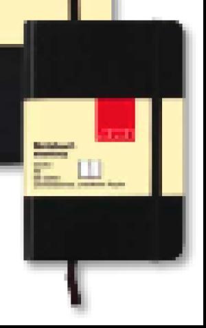 Block Notizbuch Blanko Memory A5 96 Seiten