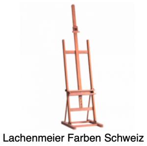 Staffeleien Atelierstaffelei 031 Buche H-Fuss Breite ca. 51x61cm max. Bildhöhe 138cm