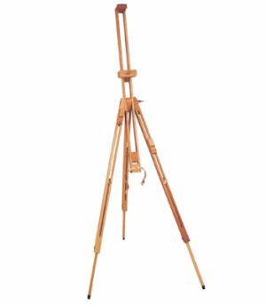 Staffelei FeldStaffeleien 020 dreibein klappbar max. Bildhöhe ca 125cm 2kg