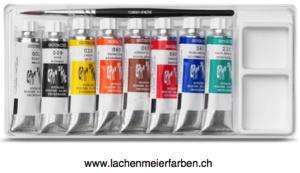 Caran d'Ache Gouache Set Tuben 8 x 10ml Farben