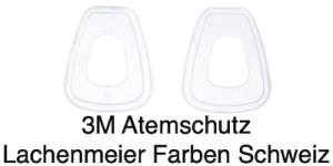 3M Atemschutz Maske 6000 Teile 501 Filter Filtergehäusedeckel