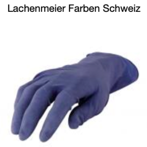 4CR 6745 Handschuhe Latexhandschuhe Blau L