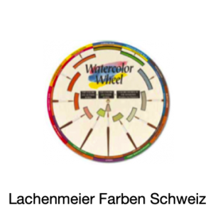 Ami Farbkomponist 23,5cm Farbenkreis Aquarell