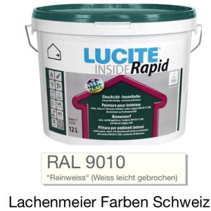 Lucite Inside Rapid Innendispersion Ral 9010 12L / ca. 19kg