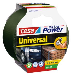 Tesa Extra Power Universal Gewebeband 50mm Grün 10m