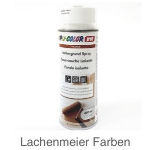 DupliColor Profesionel Isoliergrund Weiss 400ml / Ueberarbeitbar nach 30 MInuten für ca. 1,3m2