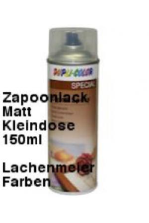 Duplicolor Zaponlack Matt Cristal Spray Matt farbloser Metallschutzlack