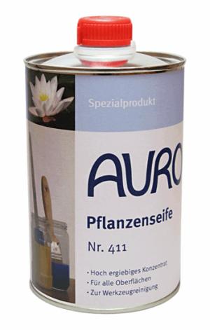 Naturfarben Auro 411 Pflanzenseife Seife