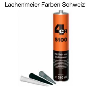 4CR 5100 PU 1K Klebe- Dichtmasse Schwarz
