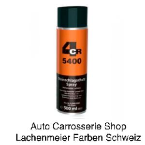4CR 5400 Steinschlagschutz Spray Schwarz