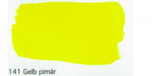 Profi gouache 141 primary yellow artist decorative paint WB