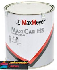 MM Maxicar HS Tintig Base BO 06 Extra Silver Aluminium