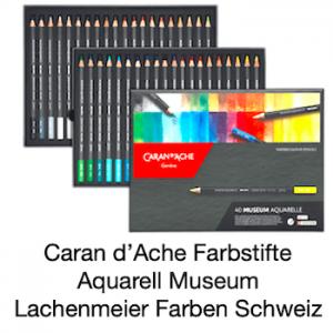 Caran d'Ache ARTIST MUSEUM AQUARELLE ASS. 40PCS-FSC