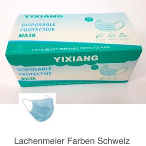 Atemschutzmasken Hygienemasken Protective Mask Pack mit 50 Masken